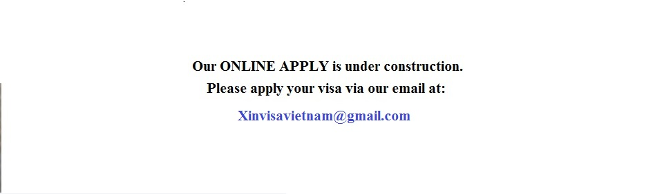 BOOK A VISA VIA EMAIL